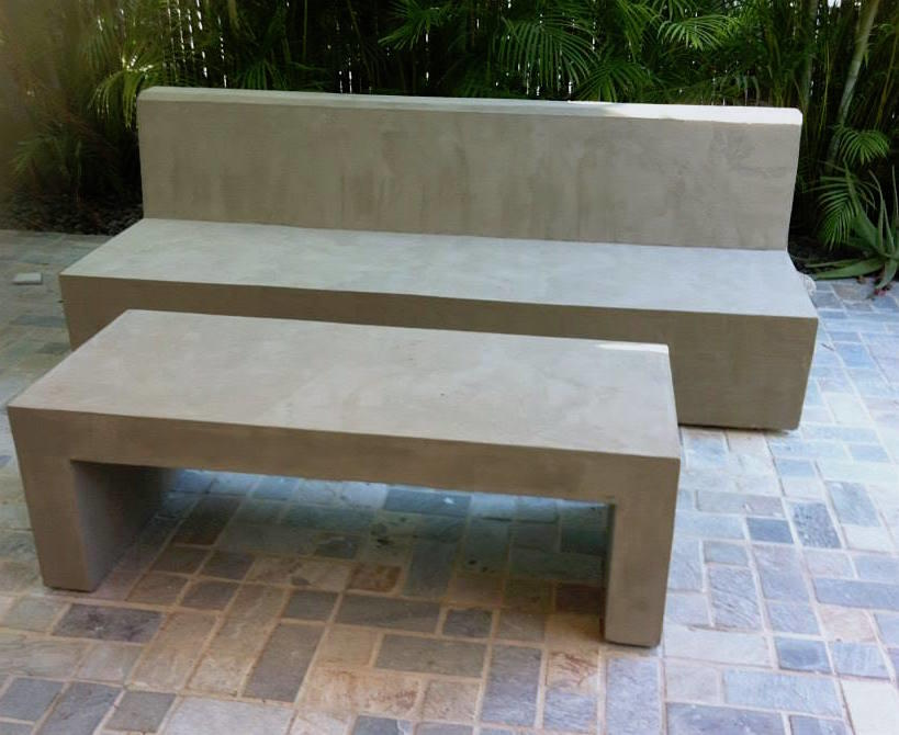 114 table beton cire exterieur table exterieur design for Table exterieur beton