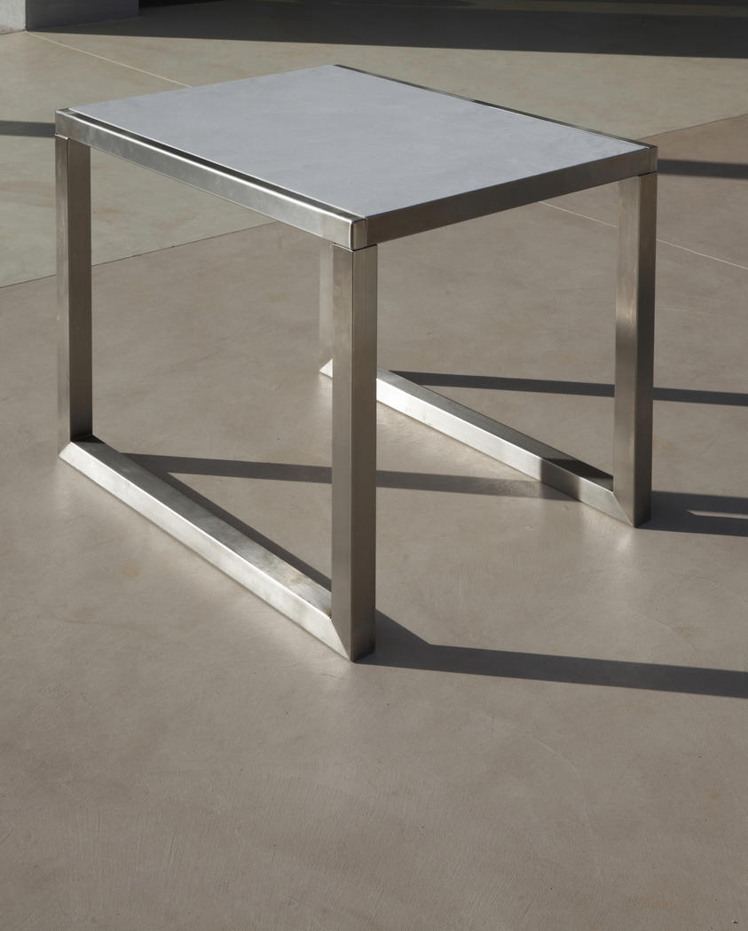 ... Exterieur Table En B Ton Cir Pour Ext Rieur Sur Mesure Marius Aurenti  For Table Beton Cire ...