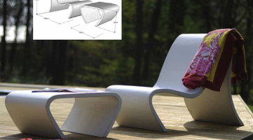 outdoor furniture uhpc